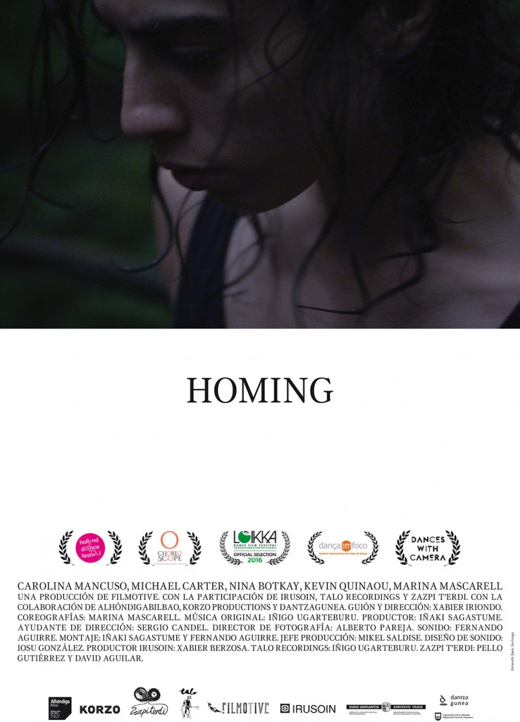 cartel de Homing de iñaki sagastume